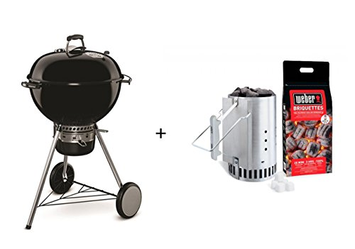 Weber Master-Pack Touch Barbecue Master Touch-Juego de chimenea