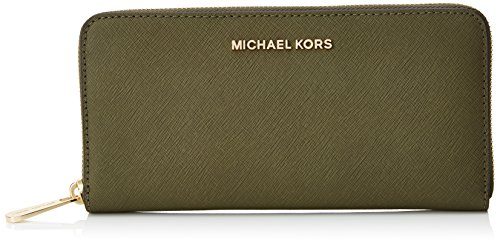 MICHAEL by Michael Kors Jet Set Travel Olive Portafoglio Verde (Olive)