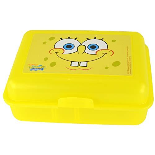 Spongebob Schwammkopf Brotdose, Gelb (Spongebob Aus)