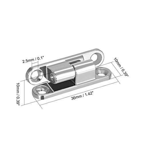 perno estilo Brenton Merriway BH07085 2 bisagras en forma de T 1 unidad Puerta de madera resistente cierre de anillo y accesorios color negro