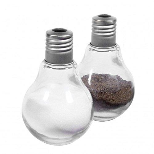 Glühbirnen Salz- und Pfefferstreuer - Glühlampen Salz und Pfeffer Gewürzstreuer Kochen