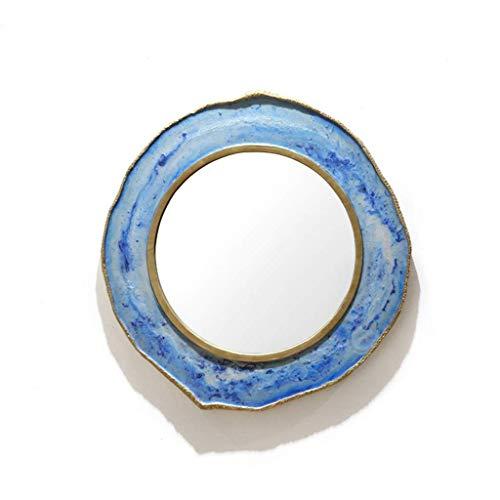 Badezimmer-Wand-Spiegel-runde hängende Spiegel-Mode-kreative dekorative Spiegel für Wohnzimmer