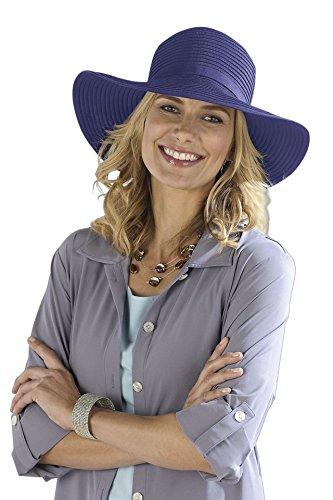 Coolibar femmes Shapeable solaire UPF 50 + Bleu marine Taille unique Violet - Violet