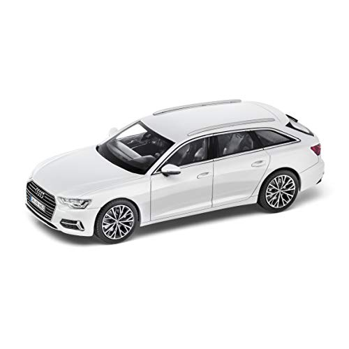 Audi A6 Avant 1: 43 Glaciar Color Blanco