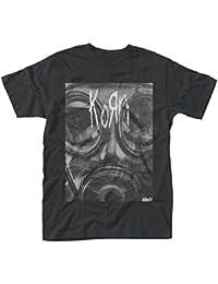 Plastic Head Men's Korn Gas Mask T-Shirt