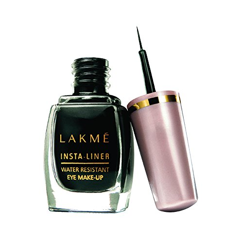 Lakme Insta Eye Liner, Black, 9 ml