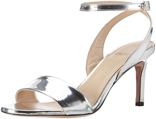 Oxitaly Simba 18, Sandales  Bout ouvert femme Silber (Argento)