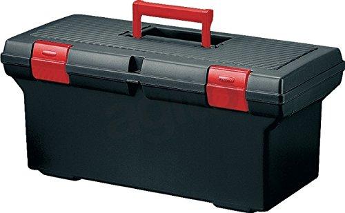 Preisvergleich Produktbild Curver Werkzeugkoffer 61cm Tool Box mit Griff Tablett, Kunststoff Tool Box