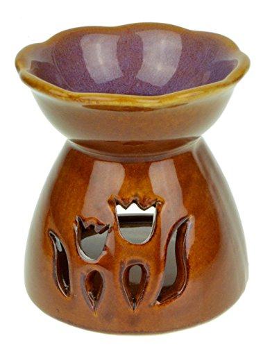 Tulip-Flower-Gradient-Ceramic-Oil-Burner