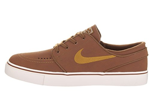 Nike SB Zoom Stefan Janoski L Leather Ale Brown/Desert Ochre Sail Braun 4p2YfjeQK7