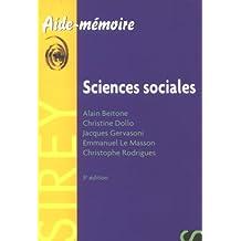 Aide-mémoire (5éme édition) : Sciences sociales