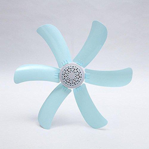 Preisvergleich Produktbild Kaxima Kleinen Fan Mini Student Schlafsaal kleine Decke Ventilator Haushalt energiesparende Lüfter Moskitonetz sechs Blatt Deckenventilator