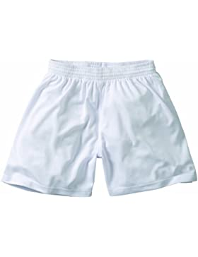 Derbystar Basic Childrens - Pantalones infantil, tamaño 10-11 años (140 cm), color blanco