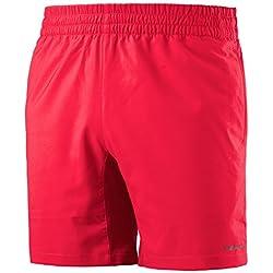 Head Club Pantalones Cortos De Tenis para hombre, color rojo, tamaño large