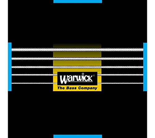 Warwick Black Label Bass .040-.130 - 5-String Set ML, Low B