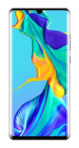Huawei P30 Pro Smartphone débloqué 4G (6,47 pouces - 8/128 Go - Double Nano SIM - Android 9.1) Noir [Offre sans bon d'achat]