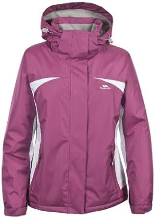 Ladies Womens TRESPASS Waterproof Thermal Longer Ski Jacket CHERRY PINK 10