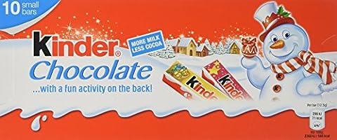 Kinder Maxi Chocolate Bar 125 g (Pack of 20)