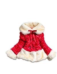 753450172 Amazon.co.uk  Red - Coats   Jackets   Girls  Clothing