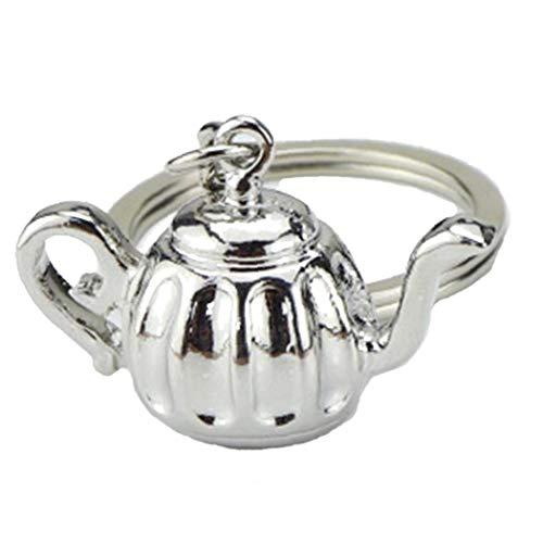 Kreative Keyrings Küche Geschirr Schlüsselanhänger Nette Mini Kaffee Geschirr Gadget Schlüsselanhänger Schmuck Geschenk Zubehör -