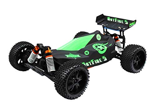 RC Buggy kaufen Buggy Bild 1: DF Models 3009 - Hotfire 5 Buggy - 1:10 Brushless Metallgetriebe RTR-Waterproof*