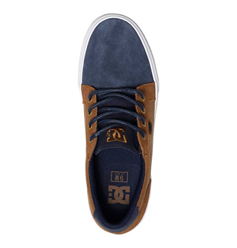 DC Shoes Council Sd, Baskets mode homme Navy/Dk Chocolate