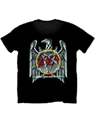 Rock Off - T-shirt Homme - Slayer Silver Eagle