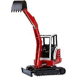 BRUDER - 02432 - Mini pelle SCHAEFF HR 16 - Rouge