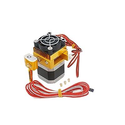 Redrex Assembled MK8 Extruder 0,2/0,3/0,4/0,5mm Druckdüsen Hotend für MakerBot Prusa i3 Reprap 3D Drucker 1.75mm 3D Drucker Filament Unterstützte