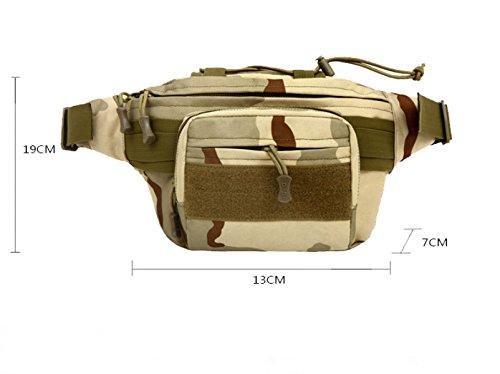 BULAGE Tasche Männer Und Frauen Taktik Militär Sport Schulterbeutel Wasserdicht Bergsteigen Taschen Mode Outdoor Militär Fans Packen Wandern F