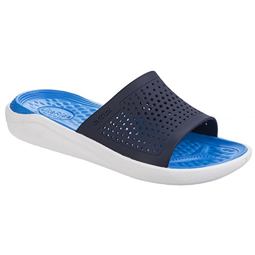crocs Womens/Damen Literide Flach Sandale (39-40 EU) (Marineblau/Weiß) -