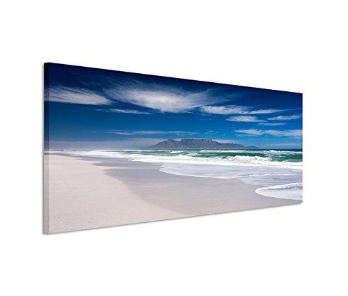 150x 50cm tela su telaio mare, spiaggia rocce Wolke velo-Quadro su tela come (Mare Su Tela)