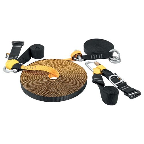 Singing Rock Slackline-Set, 25 m lang, 2,5 cm breit