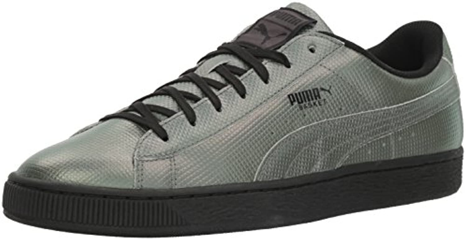 Puma Backet Classic Holographic Leder Turnschuhe