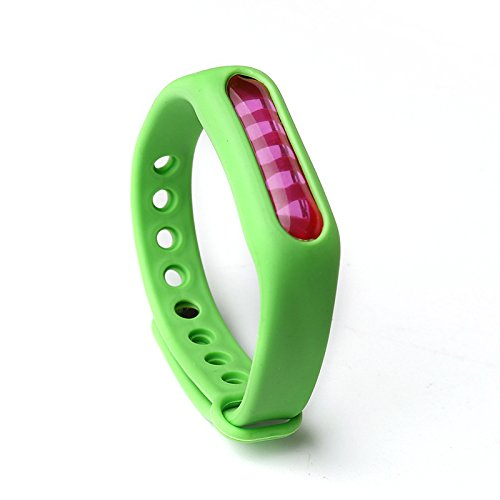 LARRY-X Silikon-Mückenschutz-Armband Ungiftig wasserdicht Anti-moskito Armband sicher für Kinder Erwachsene