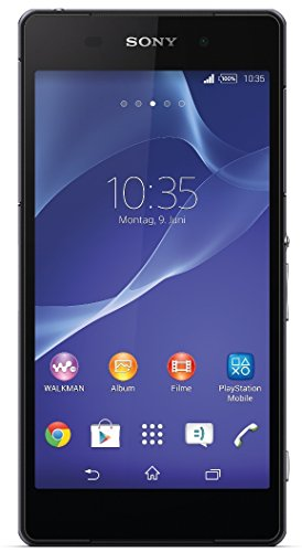 Sony Xperia Z2 Smartphone (13,2 cm (5,2 Zoll), 16 GB Speicher, Android 4.4) schwarz (Sony Android Wasserdichtes Handy)
