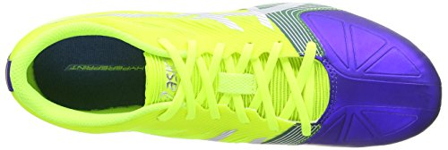 ASICS Hypersprint 6, Running Entrainement Hommes Jaune (Flash Yellow/Silver/Deep Blue 793)