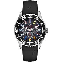 Nautica Reloj Analógico para Hombre de Cuarzo con Correa en Silicona A12626G