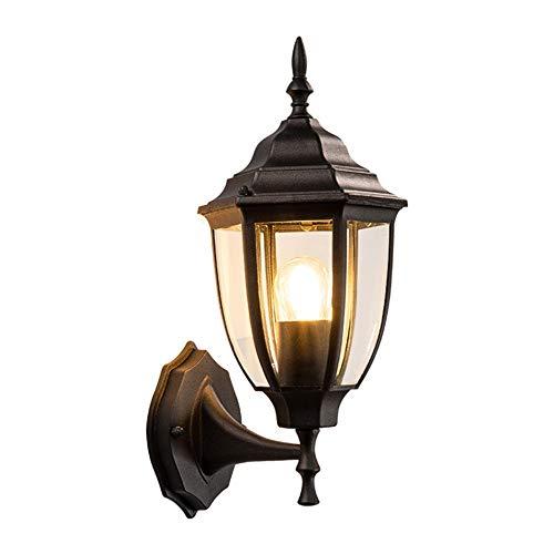 MJSM Light Wandleuchte Retro - Stil Familie außerhalb Wandlampe Gartenlicht Gartenwandlampe im Freien wasserdicht (19x15x26cm) -
