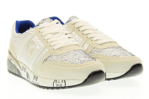 GOLD&GOLD scarpe donna sneakers basse FA48 BIANCO Bianco