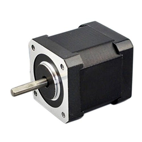 Hrph Nema 17 Schrittmotor Bipolar für 2A 59Ncm 48mm Gehäuse 4-Leiter 3D Drucker / CNC (3-phasen-motor-spannung)