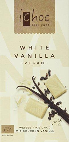 Vivani White Vanilla-Rice Choc, 5er Pack (5 x 80 g) (Schokoladen-vanille-milch)
