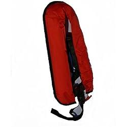 Vollautomatische Rettungsweste Schwimmweste in rot 150 N