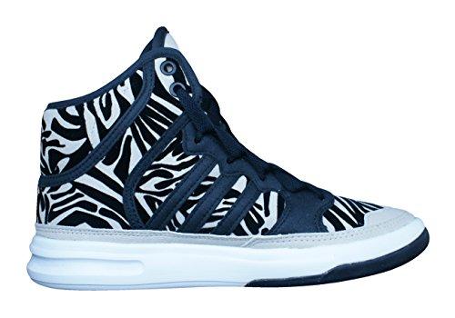 Adidas Irana, Stellasport-noir / jaune / blanc, 6 nous Black