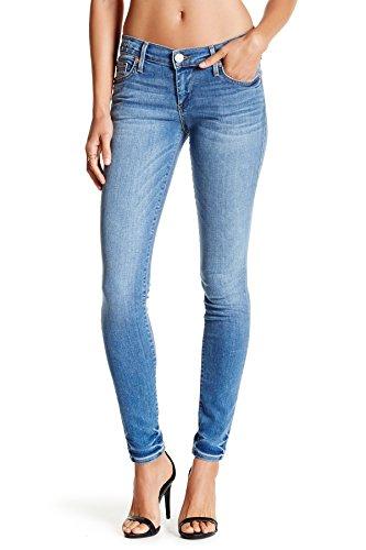 True Religion Casey faible des femmes Hausse de Super Skinny Jeans Vintage True