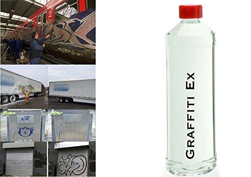 Graffiti Entferner, Farb Ex, Lack Ex, 1l, kaufe 2, erhalte 3! -
