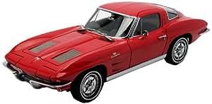 Autoart - 71183 - Véhicule Miniature - Modèle À L'échelle - Chevrolet Corvette Sting Ray Coupe - 1963 - Echelle 1/18