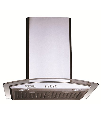 Hindware Lara 820 M3 Suction Glass Chimney (60 cm)