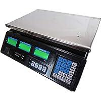 Area Longboard - Balanza electrónica digital profesional (máx. 40 kg) con pantalla nueva