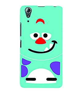 Smile Cute Eyes 3D Hard Polycarbonate Designer Back Case Cover for Lenovo A6000